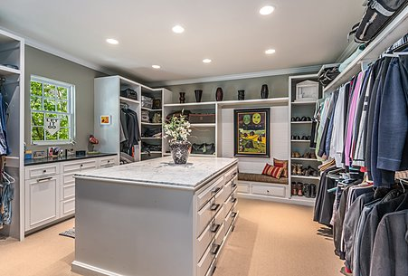 Owners' Walk-in Closet