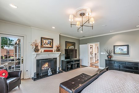 Bedroom in Owners' Suite
