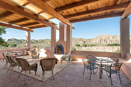 Huge Portal facing Northeast is great for entertaining or relaxing!