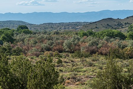 Views to the West and the Galisteo Creek