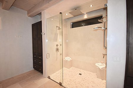 Grand Master Bath - Over-sized Shower