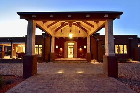 Grand Entry Porte-Cochere - Night