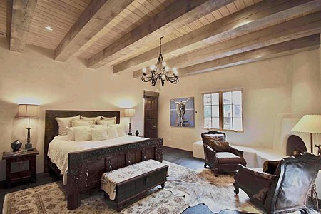 Grand Master Suite w/Fireplace; Sitting Room; Large Walk-In Closet; Luxurious Bath w/Fireplace