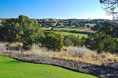 Landscaped backyard overlooks 2nd Fairway of Jack Nicklaus Signature Sunrise golf course