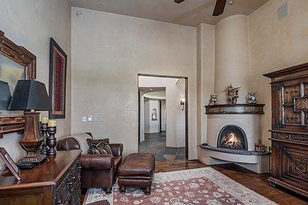 ...and Gas Kiva Fireplace