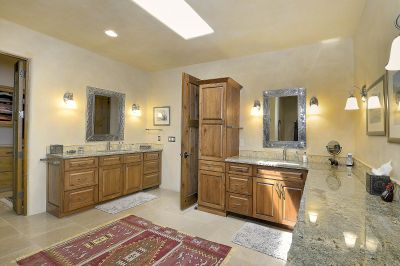 Master Bath with Dual Vanities and Generous Walk-In Closet