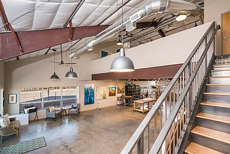 Large Open Gallery/Workspace