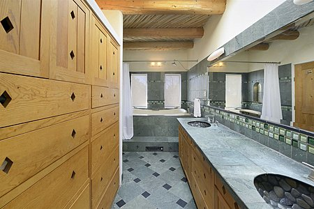 Main House - Master Bathroom