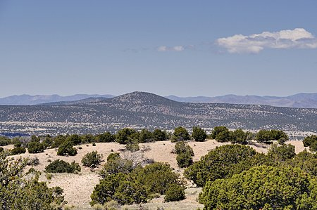 West and the Jemez Mountains