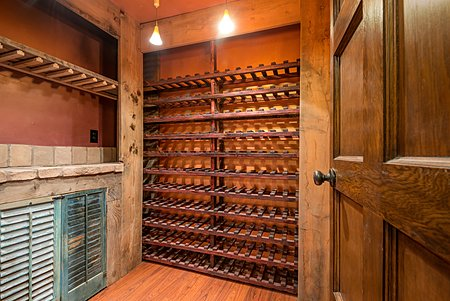 Wine Celler in basement.