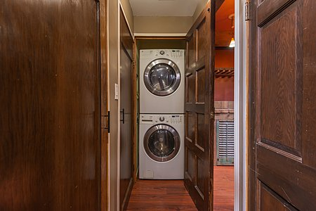 Washer and dryer for newer Rastra home.