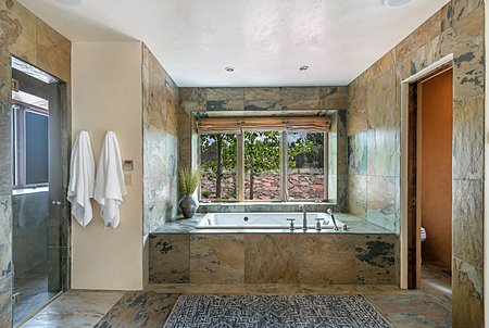 Master Bathroom - with steam shower & jetted tub