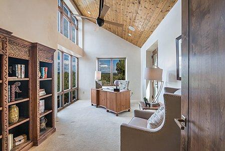 Office in Master Bedroom Suite