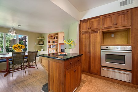 Looking from Kitchen to Breakfast Nook