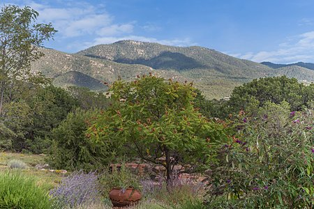 Views of Sangre de Cristo Foothills from Entertainment Portal