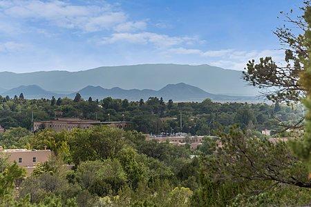 Sandia and Ortiz Mountain Views