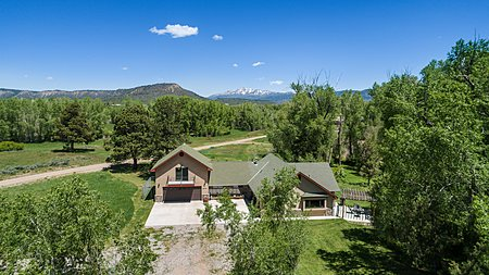 CHAMA RIVER RANCH - AERIAL