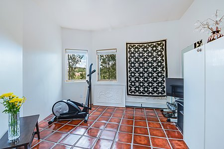 Exercise/Meditation Room across from Kitchen