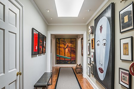 Hallway from Entry Foyer to Owners' Suite