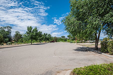 Adjoining Vacant Lot Surrounded by Garden Areas and Walking Trails Maintained by Los Alamos County