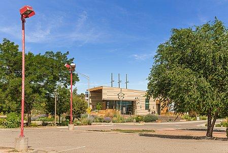 White Rock Visitor Center Across the Street