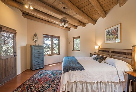 Master Bedroom has access to private patio