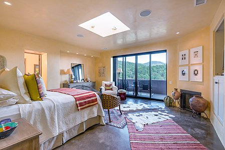 Master Bedroom Opens to Portal and Stunning Views
