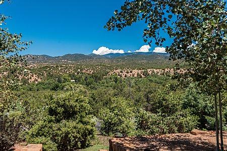 Breathtaking Sangre de Cristo Mountain Views from Living Room