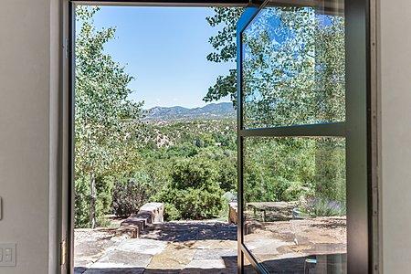 Sangre de Cristo Mountain Views from Entry Foyer