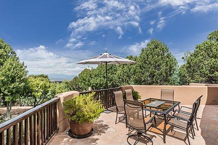 Terrace off main living area