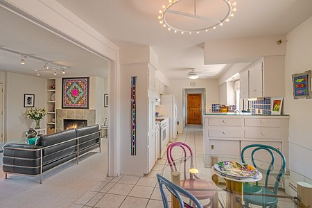 Breakfast Area open to Great Room and Kitchen