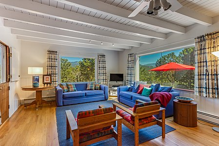 Family Room with Sweeping Mountain Views...