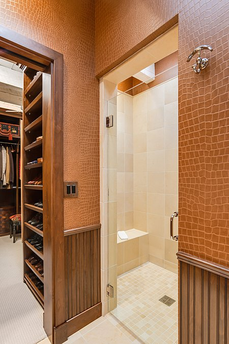His Walk-in Shower