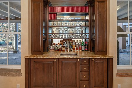 Wet Bar in Great Room
