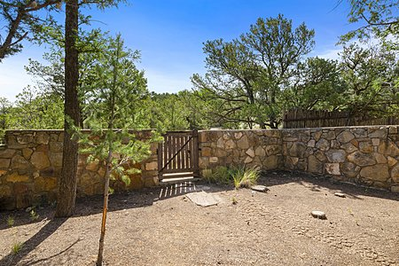 Stone Walls and Wooded Grounds...