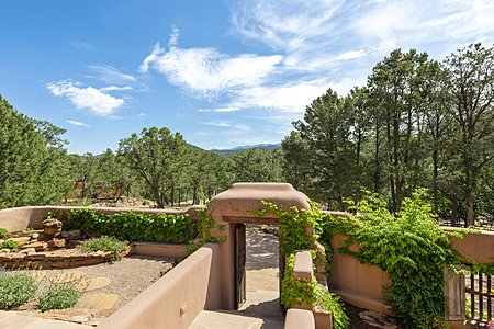 ...with Views of the Sangre de Cristo Mountains and Foothills