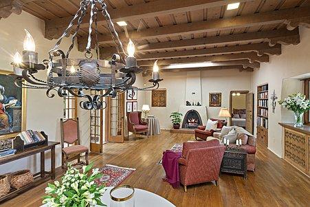 Classic 1930's Pueblo Revival Estate with Period Design Elements