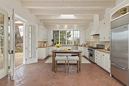 The Spacious Kitchen boasts High-end Appliances...