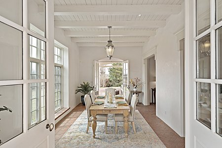 Welcome to this Elegant Territorial-style Residence on Santa Fe's Historic Eastside