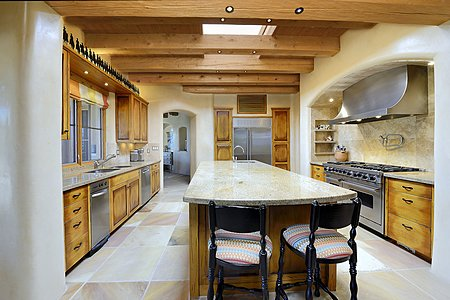 Spacious Kitchen Ideal for Entertaining