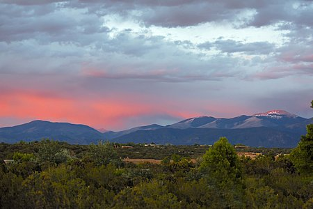 Sangre De Cristo Mountain View