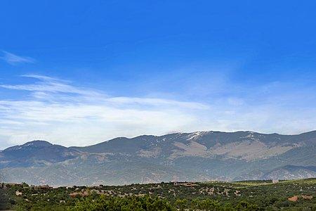 Sangre de Cristo Mountain Views from the Residence