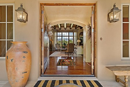 An Elegant Entry to this Gracious Gated Estate