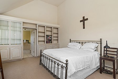 Large and spacious master bedroom!