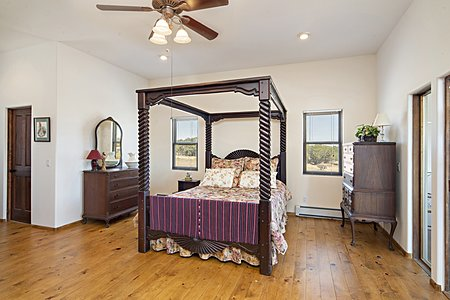 Owner's Bedroom to Enclosed Porch
