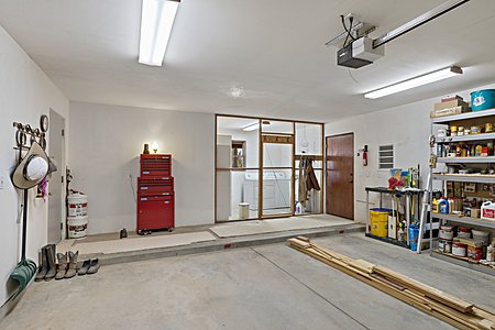 2-Car Garage & Laundry Space