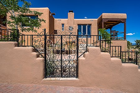 Entrance Gate to Guest House & Guest Suite