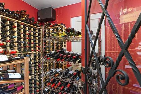 Temperature-controlled Wine Room