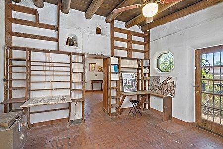 Studio space of Drew and Helen Bacigalupa