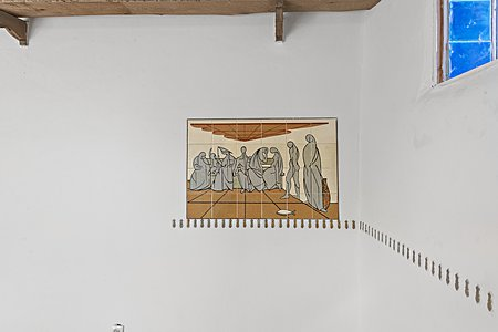 Tile detail in livingroom by Drew Bacigalupa